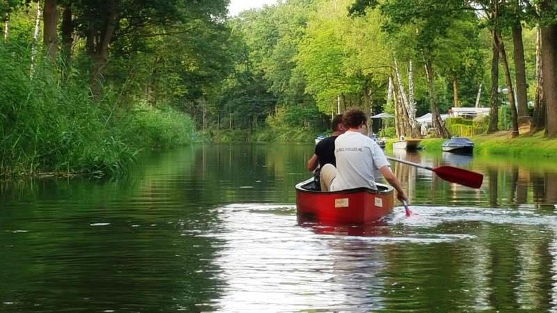 Kano varen de groote peel